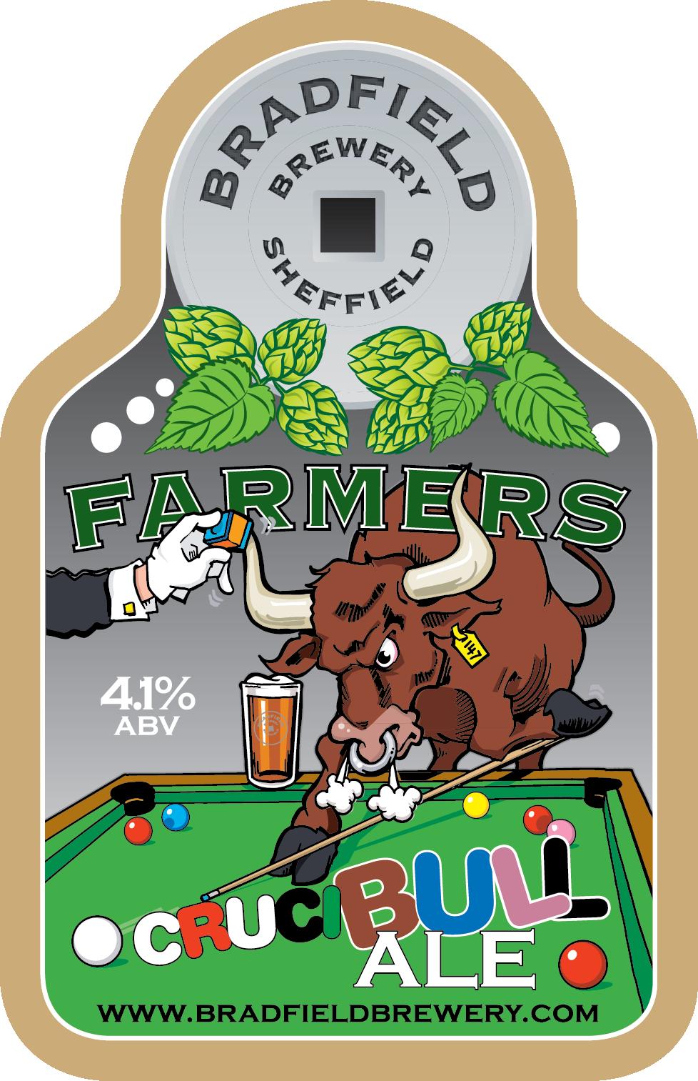 Farmers Cruci-Bull Ale