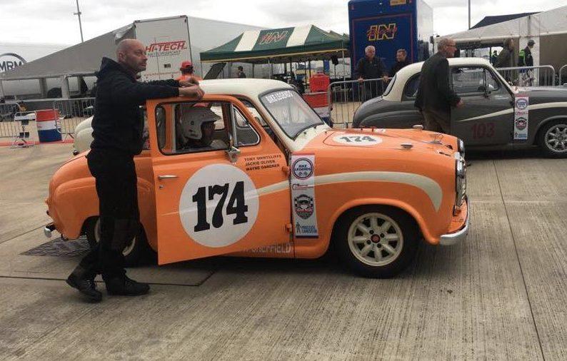 Bradfield Brewery Sponsors Malin Motor Bodies in Silverstone Classic